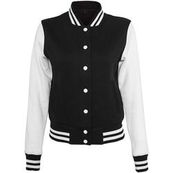 textil Dame Jakker Build Your Brand BY027 Black/White
