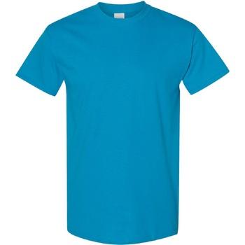 textil Herre T-shirts m. korte ærmer Gildan Heavy Sapphire