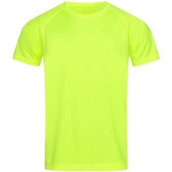 textil Herre T-shirts m. korte ærmer Stedman  Cyber Yellow