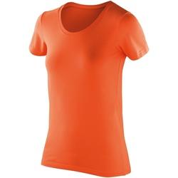 textil Dame T-shirts m. korte ærmer Spiro SR280F Tangerine