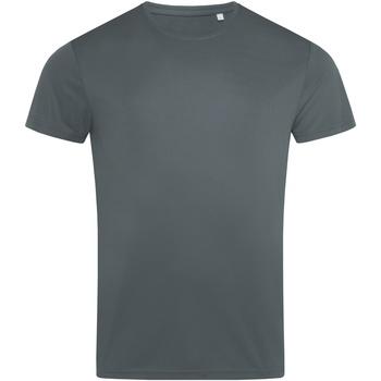 textil Herre T-shirts m. korte ærmer Stedman  Granite Grey
