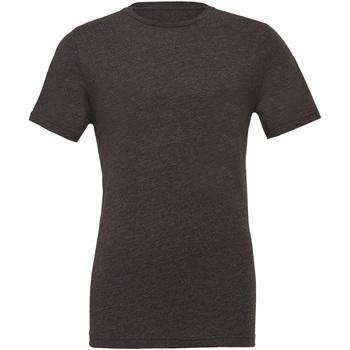 textil Herre T-shirts m. korte ærmer Bella + Canvas CA3001 Dark Heather