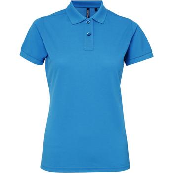 textil Dame Polo-t-shirts m. korte ærmer Asquith & Fox AQ025 Sapphire