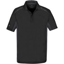 textil Herre Polo-t-shirts m. korte ærmer Stormtech ST955 Black/Graphite