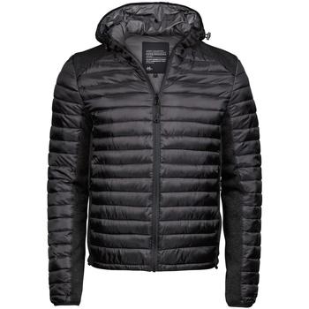 textil Herre Dynejakker Tee Jays TJ9610 Jet Black/Black Melange
