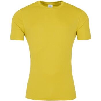 textil Herre T-shirts m. korte ærmer Awdis JC020 Sun Yellow