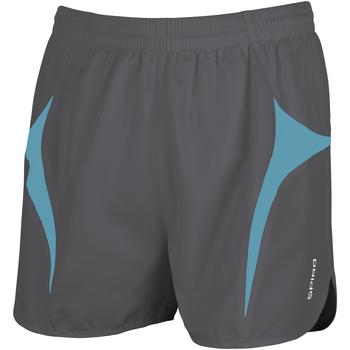textil Herre Shorts Spiro S183X Grey/Aqua