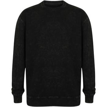 textil Sweatshirts Skinni Fit SF520 Washed Black