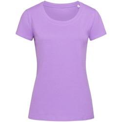 textil Dame T-shirts m. korte ærmer Stedman Stars  Lavender Purple