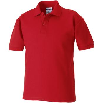 textil Dreng Polo-t-shirts m. korte ærmer Jerzees Schoolgear 539B Classic Red