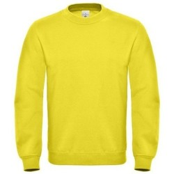 textil Herre Sweatshirts B And C WUI20 Solar Yellow