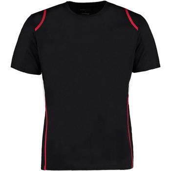 textil Herre T-shirts m. korte ærmer Gamegear Cooltex Black/Red