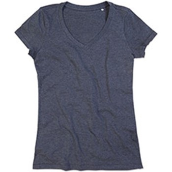 textil Dame T-shirts m. korte ærmer Stedman Stars  Charcoal Heather Grey
