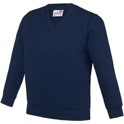 textil Børn Sweatshirts Awdis  Navy