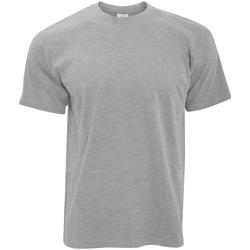 textil Herre T-shirts m. korte ærmer B And C TU004 Sport Grey