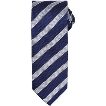 textil Herre Slips og accessories Premier  Navy/Silver