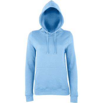 textil Dame Sweatshirts Awdis Girlie Sky Blue