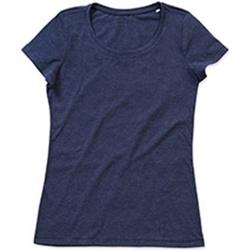 textil Dame T-shirts m. korte ærmer Stedman Stars Lisa Navy Heather