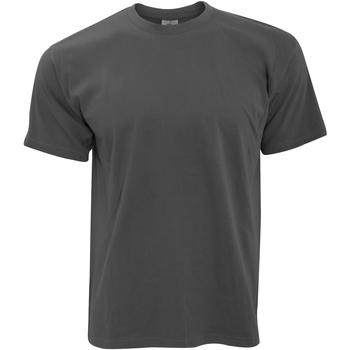 textil Herre T-shirts m. korte ærmer B And C TU004 Dark Grey