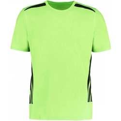textil Herre T-shirts m. korte ærmer Gamegear KK930 Fluorescent Lime/Black