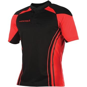 textil Herre T-shirts m. korte ærmer Kooga KG107 Black/Red