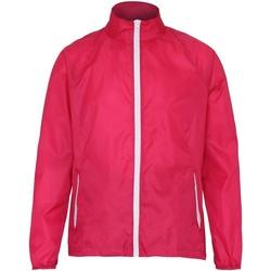 textil Herre Vindjakker 2786 TS011 Hot Pink/ White