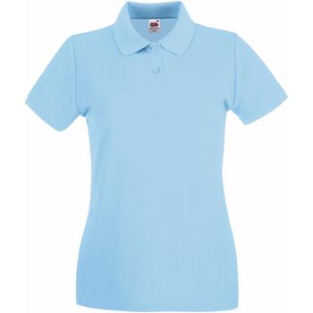 Polo-t-shirts m. korte ærmer Fruit Of The Loom  63030