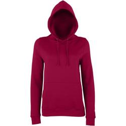 textil Dame Sweatshirts Awdis Girlie Burgundy