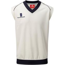 textil Herre Toppe / T-shirts uden ærmer Surridge SU012 White/ Navy trim