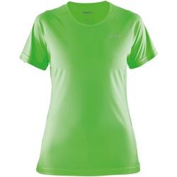 textil Dame T-shirts m. korte ærmer Craft CT86F Gecko