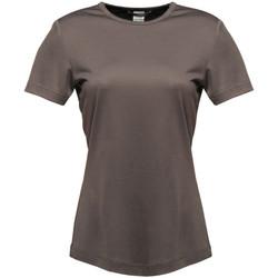 textil Dame T-shirts m. korte ærmer Regatta TRS188 Seal Grey