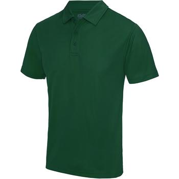 textil Herre Polo-t-shirts m. korte ærmer Awdis JC040 Bottle Green
