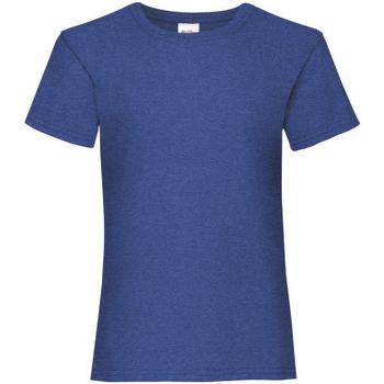 textil Pige T-shirts m. korte ærmer Fruit Of The Loom 61005 Deep Navy