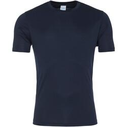 textil Herre T-shirts m. korte ærmer Awdis JC020 French Navy