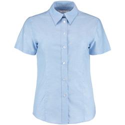textil Dame Skjorter / Skjortebluser Kustom Kit KK360 Light Blue