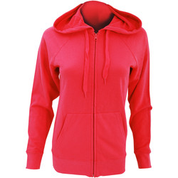 textil Dame Sweatshirts Fruit Of The Loom 62150 Red