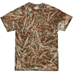 textil Herre T-shirts m. korte ærmer Colortone TD08M Camo
