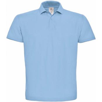 textil Dame Polo-t-shirts m. korte ærmer B And C PUI10 Light Blue