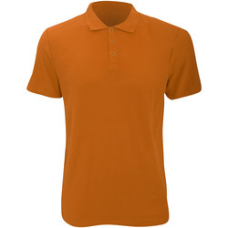 textil Herre Polo-t-shirts m. korte ærmer Anvil 6280 Mandarin Orange
