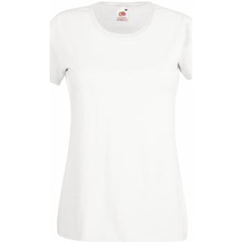 textil Dame T-shirts m. korte ærmer Universal Textiles 61372 Snow