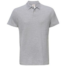 textil Dame Polo-t-shirts m. korte ærmer B And C PUI10 Heather Grey