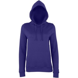 textil Dame Sweatshirts Awdis Girlie Purple