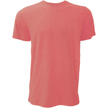 textil Herre T-shirts m. korte ærmer Bella + Canvas CA3001 Heather Red