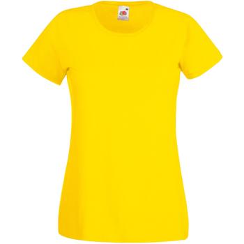 textil Dame T-shirts m. korte ærmer Universal Textiles 61372 Bright Yellow
