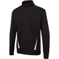 textil Herre Sweatshirts Surridge SU073 Black / White / White