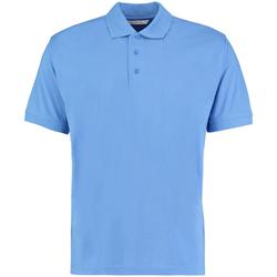 textil Herre Polo-t-shirts m. korte ærmer Kustom Kit KK403 Mid Blue
