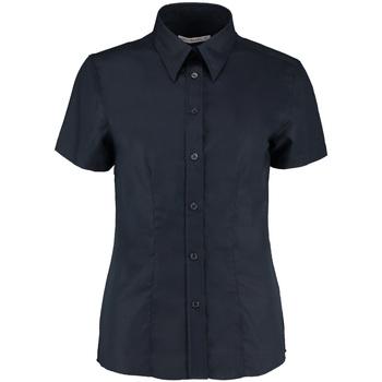 textil Dame Skjorter / Skjortebluser Kustom Kit KK360 French Navy