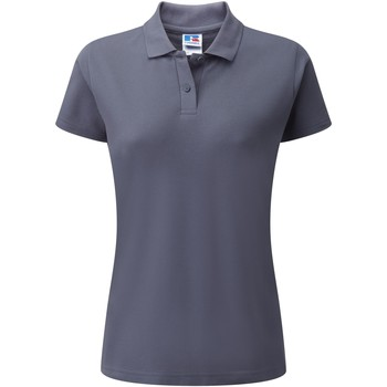 textil Dame Polo-t-shirts m. korte ærmer Jerzees Colours 539F Convoy Grey