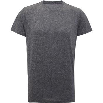 textil Herre T-shirts m. korte ærmer Tridri TR010 Black Melange