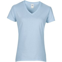 textil Dame T-shirts m. korte ærmer Gildan GD015 Light Blue